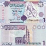 Libia 1 Dinar 2009 Gaddafi UNC