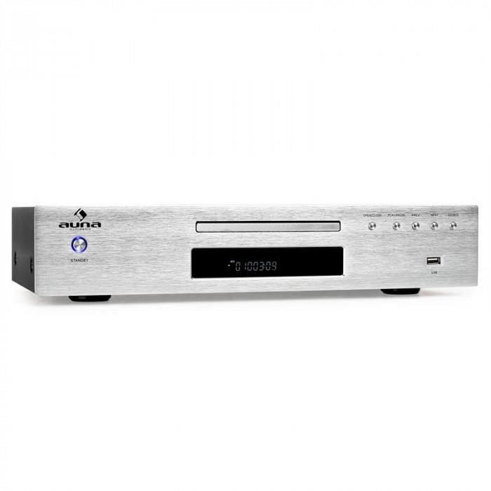 Auna AV2 - CD509 CD MP3 player receptor radio USB MP3 foto mare
