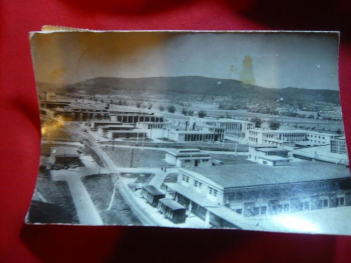 Ilustrata Sighisoara- Complex Ind. de Faianta , Sticlarie 1963