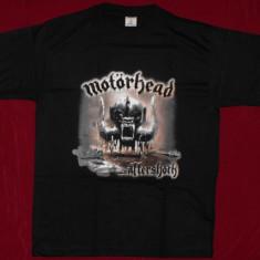 Tricou Motorhead -Aftershock, calitate 180 grame, tricouri formatii rock - Tricou barbati, Marime: S, L, Culoare: Negru, Maneca scurta