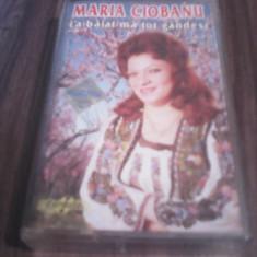 CASETA AUDIO MARIA CIOBANU-LA BAIAT MA TOT GANDESC RARA!!!!ORIGINALA EUROSTAR, Casete audio