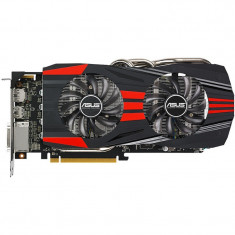 + Placa video gaming ASUS Radeon R9 270X DirectCU II Top 2GB DDR5 256-bit - Placa video PC Asus, PCI Express, 3 GB, Ati