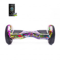 Scooter electric (Hoverboard) FREEWHEEL Monster S2 SMART - Graffiti Mov SmartPRO Technology