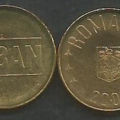 ROMANIA 1 BAN 2005 UNC [1] necirculata - din fisic, livrare in cartonas - Moneda Romania, Fier