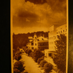 Ilustrata Govora - Bl.Tudor Vladimirescu , anii '50, Necirculata, Fotografie