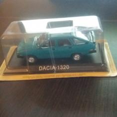 Macheta metal dacia 1320 - masini de legenda romania - Macheta auto, 1:43