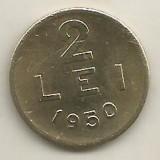 ROMANIA   2  LEI  1950    [7]    livrare in cartonas, Cupru-Nichel