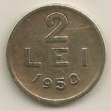 ROMANIA   2  LEI  1950    [2]  XF  ,   livrare in cartonas, Cupru-Nichel