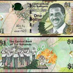 Bahamas 2015 - 1 dollar UNC - bancnota america