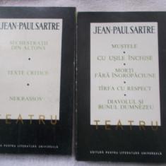 Sartre - Teatru - 2 vol. - Carte Teatru