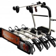 Suport biciclete Peruzzo Parma 4 biciclete 706/4 cu prindere pe carligul de remorcare Grand Luggage - Bare Auto longitudinale