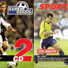Sport Super Goool 1 - 2 - DVD fotbal