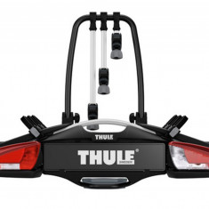 Suport biciclete Thule VeloCompact 926 cu prindere pe carligul de remorcare, pentru 3 biciclete Grand Luggage - Bare Auto longitudinale