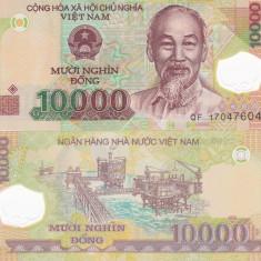 Vietnam 10 000 Dong 2014 Polimer UNC - bancnota asia