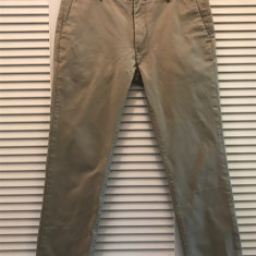 Pantaloni barbati LEVI STRAUSS, mas. 34x32 2+1 gratis, Culoare: Bej, Lungi, Bumbac