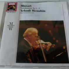 Mozart - Menuhin - cd - Muzica Clasica emi records