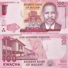 Malawi 100 Kwacha 01.01.2014 UNC