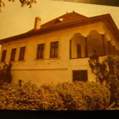 Ilustrata Valenii de Munte -Casa lui N.Iorga, anii '70 - Carte Postala Muntenia dupa 1918, Necirculata, Fotografie