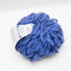 Fire de tricotat TECHNO albastru, 50 g - Fir tricotat si crosetat