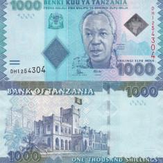Tanzania 1 000 Shilingi 2010 UNC