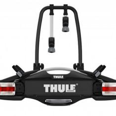 Suport biciclete Thule VeloCompact 925 cu prindere pe carligul de remorcare, pentru 2 biciclete Grand Luggage - Bare Auto longitudinale