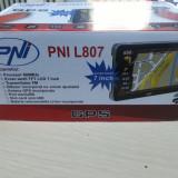 Sistem GPS PNI L807 inch 800 MHz 256M DDR cu 4 PROGRAME igoPrimo harti HERE 2019, 7, Toata Europa, Alta perioada