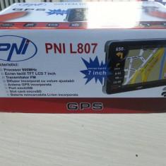 Sistem de navigatie PNI L807 cu harti Primo si Tomtom full Europa 2017, 7 inch, Toata Europa
