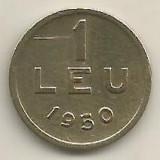 ROMANIA   1  LEU  1950  [15]    livrare  in  cartonas, Cupru-Nichel