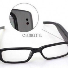 Ochelari spion cu camera video, inregistrare video si audio