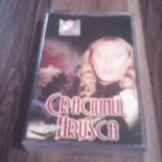 CASETA AUDIO CRACIUNUL CU HRUSCA-STEFAN HRUSCA ORIGINALA STARE EX - Muzica Sarbatori, Casete audio