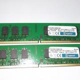 Ram 2 x 2 Gb DDR2 / 800 Mhz PC2-6400U / Hypertec Dual chanell (101A) - Memorie RAM, 4 GB, Dual channel