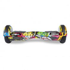 Scooter electric (hoverboard) Freewheel Junior - Graffiti galben SmartPRO Technology