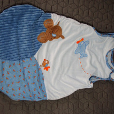 Sac de dormit bleu BEBE 70 cm - Sac de dormit copii, Albastru
