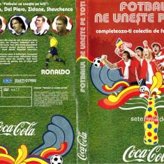 RONALDO - Fotbalul ne uneste pe toti - DVD fotbal