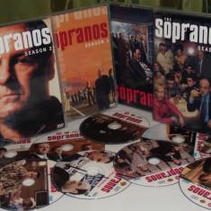 The Sopranos 1999–2007 Clanul Soprano 6 Sezoane DVD