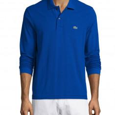 Bluza Lacoste 100 % originala albastra XL - Bluza barbati, Culoare: Albastru, Bumbac