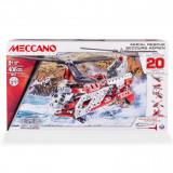 Set constructie metalic Meccano Elicopter 20 in 1