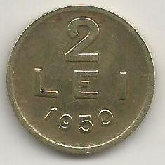 ROMANIA 2 LEI 1950 [12] livrare in cartonas - Moneda Romania, Cupru-Nichel