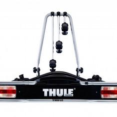 Suport biciclete Thule EuroRide 943 cu prindere pe carligul de remorcare - pentru 3 biciclete Grand Luggage - Bare Auto longitudinale