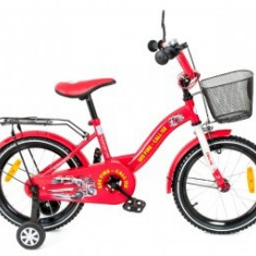 Bicicleta copii Toma Fire Station Red 14
