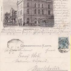 Gara Itcani (Bucovina, Suceava )- clasica, rara - Carte Postala Bucovina pana la 1904, Circulata, Printata