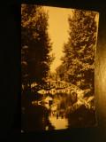 Ilustrata - Pitesti - Vedere din Parcul Arges , circulat 1967, Circulata, Fotografie