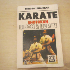 KARATE SHOTOKAN KIHON & KUMITE MIRCEA INGUREAN - Carte sport