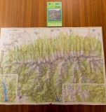 Colectia Muntii Nostrii nr. 1 -Muntii Fagaras - (cu harta) MN1