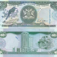 Trinidad & Tobago 5 Dollars 2006 UNC