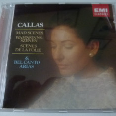 Callas - Mad Scenes - cd - Muzica Opera emi records