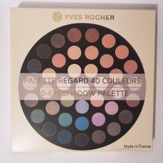 Paletă 40 culori fard pt pleoape Yves Rocher - Fard pleoape