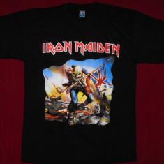 Tricou Iron Maiden - Trooper, tricouri formatii rock - Tricou barbati, Marime: L, Culoare: Negru, Maneca scurta