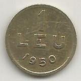 ROMANIA   1  LEU  1950  [24]    livrare  in  cartonas, Cupru-Nichel