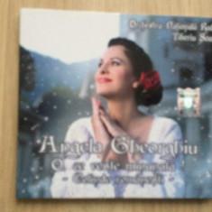 Angela gheorghiu o ce veste minunata colinde romanesti cd disc muzica sarbatori